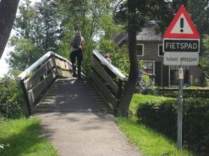 Fietser Giethoorn