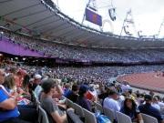 Volle bak in Olympisch Stadion
