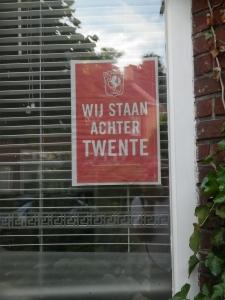 Affiche FC Twente uit Tubantia